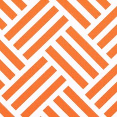 Bekko Parquet Wide Width Tangerine Bekko Parquet is a striking largerscale cross hatch geometric design printed on a lovely medium weight 100 cotton sateen Sui. Please Click the image for more information.