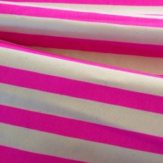 Fluoro Stripe Dark Pink Medium home decorating weight fluoro striped fabric perfect for cushions napery table runners quilts lampshades etc. Please Click the image for more information.