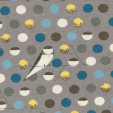 Charley Harper Bank Swallow Blue Organic Cotton KNIT  Please Click the image for more information.