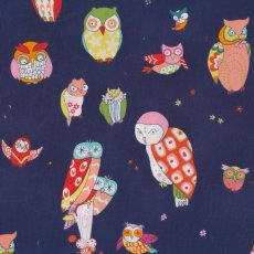 Alexander Henry Spotted Owl Navy  Please Click the image for more information.