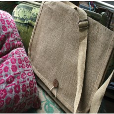 Natural Jute Messenger Bag Our gorgeous sturdy but beautiful Jute bag has a wide soft strap to carry home those books laptopor . Please Click the image for more information.