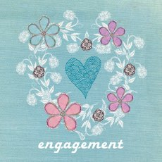 Pastel Engagement greeting card design available wholesale thru wwwaeroimagescomau Please Click the image for more information.