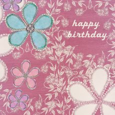 Pink Happy Birthday greeting card design available wholesale thru wwwaeroimagescomau Please Click the image for more information.
