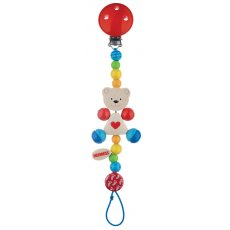 heimess baby chain bear with heart Charming and bright Bear with Heart baby chain is adorable and will keep you pacifier close when you need it most Attach to babys clothes for convenience and availabilityAll. Please Click the image for more information.