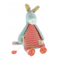 moulin roty biscotte et pompon musical donkey The Moulin Roty Musical Donkey Doll is an adorable product from the Les Petits range Babies and young children will love the musical sounds . Please Click the image for more information.