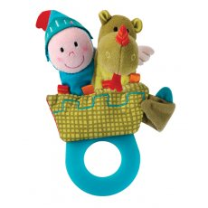 lilliputiens walter teether rattle set Join Walter and his knight viewing their realm from the top of their castle He is a teether with a difference . Please Click the image for more information.