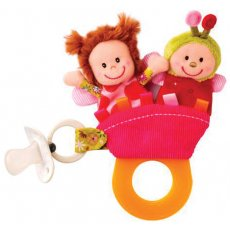 lilliputiens liz teether rattle set Much more than a teether This inspired design is a rattle has a fastener for your pacifier a handle to chew on and the magical figures of Liz ladybird double as finger puppets or finger protection Great for the nappy bag to distract and sootheAll Li. Please Click the image for more information.