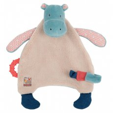 moulin roty les papoum hippo comforter with teether moulin roty les papoum hippo comforter with teether 24cm Please Click the image for more information.
