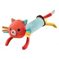 lilliputiens collette cat squeaker Plush and tactile Colette the Cat has hidden surprises Shake her and hear the gentle rattle of a bell S. Please Click the image for more information.