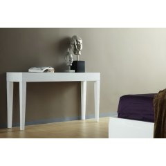 Metro Gloss Hall Table Console White Medium 130cm The Metro Gloss Hall Table Console will add the perfect touch to any room Combining style sophistication and superb quality our Metro Gloss Range offer excellent value for moneyThis . Please Click the image for more information.