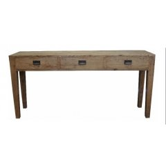 """Norfolk"" Oak Hardwood Timber Hall Table Console Drawers 180cm The Norfolk Oak Hall Table Console 180cm has 2 large drawers Made from solid oak timber it looks great and is fantastic qualityThe. Please Click the image for more information."