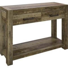 Dockside Timber Hall Console Table Natural Pine The DocksideTimber Hall Console Table has a rustic stylish and contemporary design which doesnt compromise on quality Mad. Please Click the image for more information.