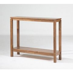 """Trend"" Timber Console Table with Shelf 96cm Natural The Trend Range of furniture will add the perfect touch to your home They are the ideal combination of style versatility and great value for money Ava. Please Click the image for more information."