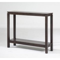 """Trend"" Timber Console Table with Shelf 96cm Chocolate The Trend Range of furniture will add the perfect touch to your home They are the ideal combination of style versatility and great value for money Ava. Please Click the image for more information."