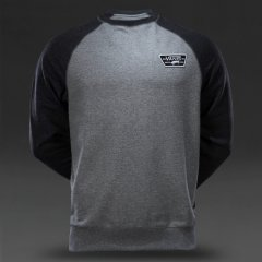 Vans Mens Rutland Jumper Colour Concrete BlackMade from 60 Cotton and 40 PolyesterPullover jumperCrew neckContrast raglan style sleevesBrand patch on chestElasticated sleeve cuffs and hemlineFleece liningStraight hemline Please Click the image for more information.