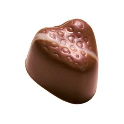 STRAWBERRY FIELDS&#8482 Strawberry ganache in milk chocolate Subtle strawberry flavour tender textureOrder by the piece pick up only Otherwise go to Pack Your Own Box. Please Click the image for more information.
