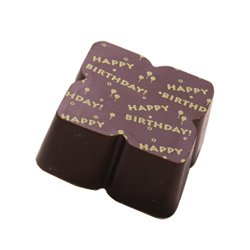 HAPPY BIRTHDAY Solid Milk chocolate Solid milk chocolate with edible print Happy Birthday  Perfect to include in an assorted box for a birthday giftO. Please Click the image for more information.