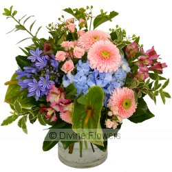 Summer Vase In Pastels  Priced from $ 125  Click for more details